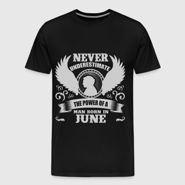 JUNE MAN 2.png - Men's Premium T-Shirt