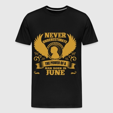 JUNE MAN 3.png - Men's Premium T-Shirt