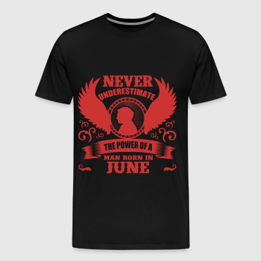 JUNE MAN 4.png - Men's Premium T-Shirt