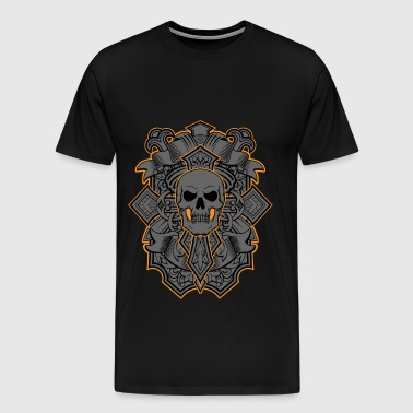 skull cross - Men's Premium T-Shirt