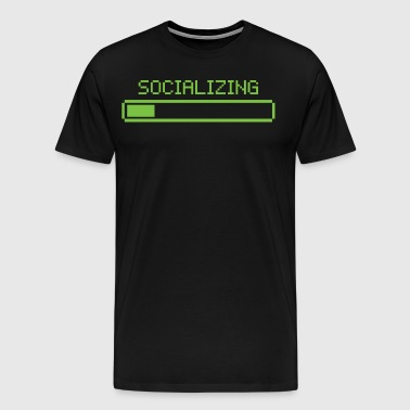 Socializing - Men's Premium T-Shirt