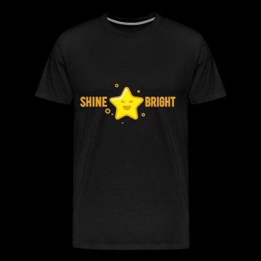 shine bright like a star - Men's Premium T-Shirt