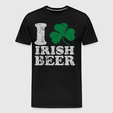I Shamrock Irish Beer - Men's Premium T-Shirt