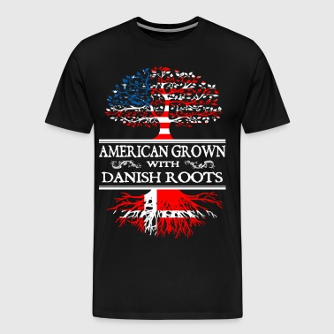 Denmark - american grown with danis - Men's Premium T-Shirt
