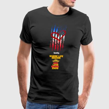 USA Family - Men's Premium T-Shirt