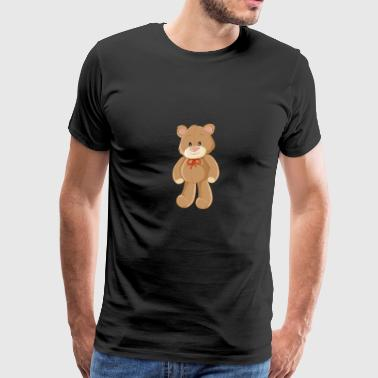bear-children-animal-drawing-cool - Men's Premium T-Shirt