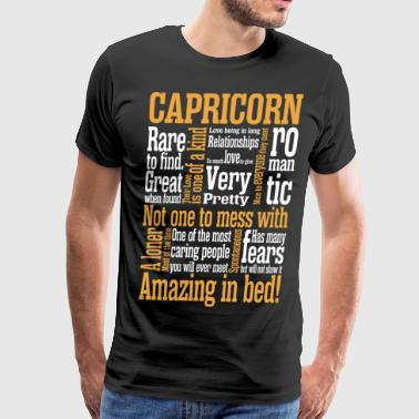 Capricorn Amazing In Bed - Men's Premium T-Shirt