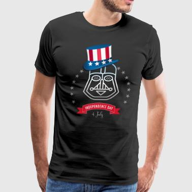 Independance Star Wars Trooper usa flag 4.juli - Men's Premium T-Shirt