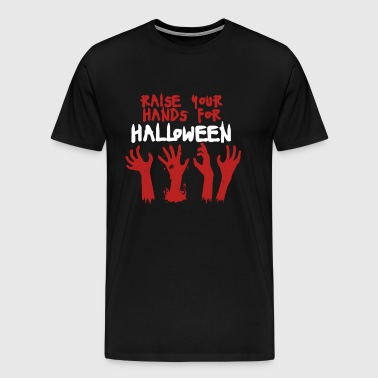 Raise Your Hands For Halloween - Men's Premium T-Shirt