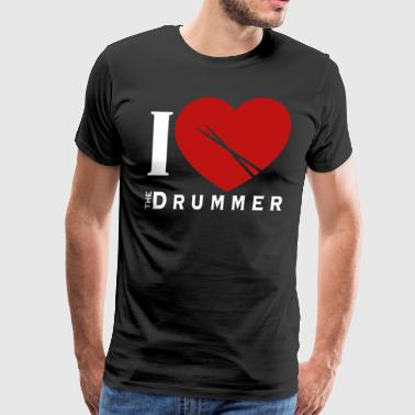 Drummer Drums Band RocknRoll - Men's Premium T-Shirt