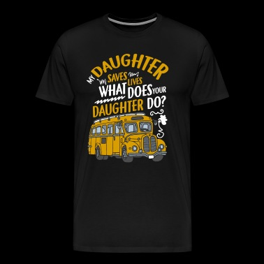 I'm A School Bus Driver T Shirt - Men's Premium T-Shirt