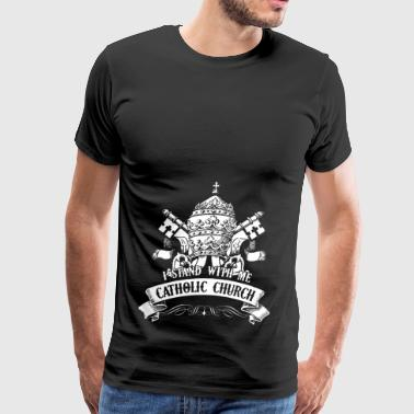 Catholic Church Shirt - Men's Premium T-Shirt