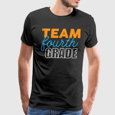 Fourth Grade Teacher T-shirt - Men's Premium T-Shirt