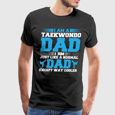 Taekwondo Dad - Men's Premium T-Shirt