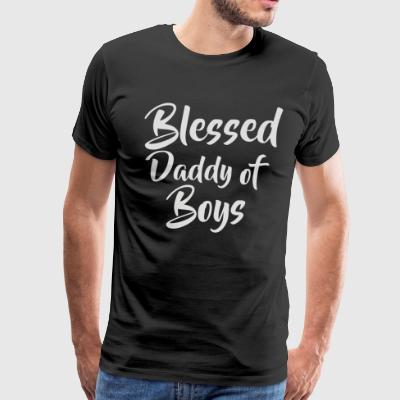 Blessed Daddy Of Boys - Men's Premium T-Shirt