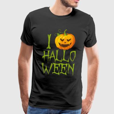 I Love Halloween - Men's Premium T-Shirt