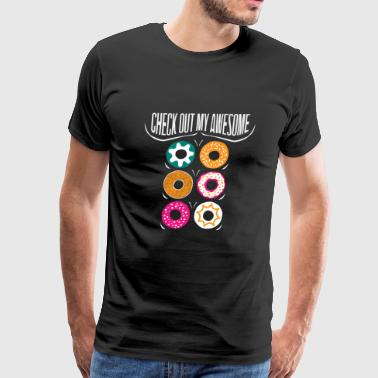 Check out my awesome Donut Six Pack Fitness Gym - Men's Premium T-Shirt