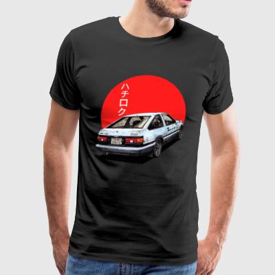 AE86 Initial d Trueno Japan Movie - Men's Premium T-Shirt