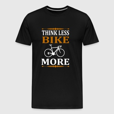 Bicycle bike racing cycle sports cycling gift idea - Men's Premium T-Shirt