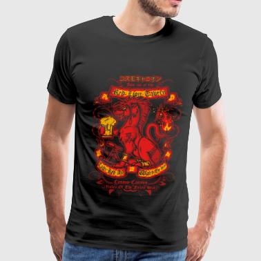 Red XIII in Final Fantasy VII T - shirt - Men's Premium T-Shirt