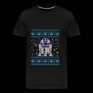 R2D2 - R2D2 - R2D2 Sweater - Men's Premium T-Shirt