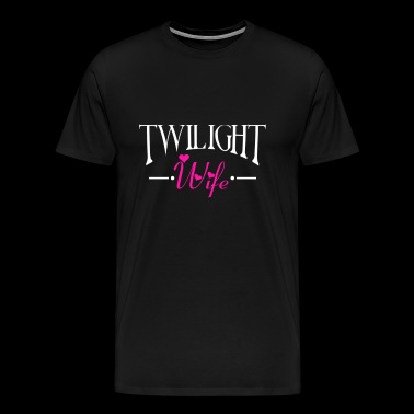 Twilight wife Twilight wife Awesome twilight - Men's Premium T-Shirt