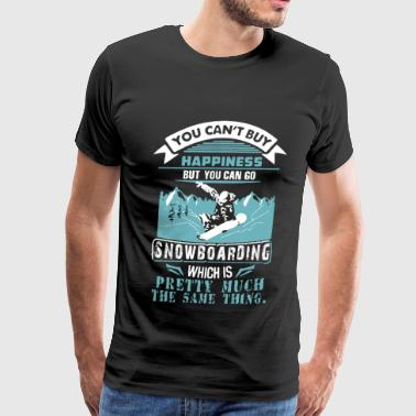 Snowboarding - Pretty much the same as happiness - Men's Premium T-Shirt