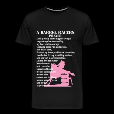 Barrel racing - Barrel racing - a barrel racers - Men's Premium T-Shirt