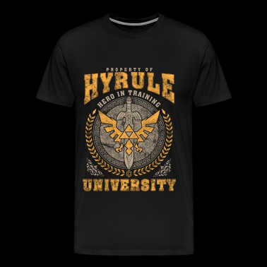 Hyrule - Property of Hyrule university - Men's Premium T-Shirt
