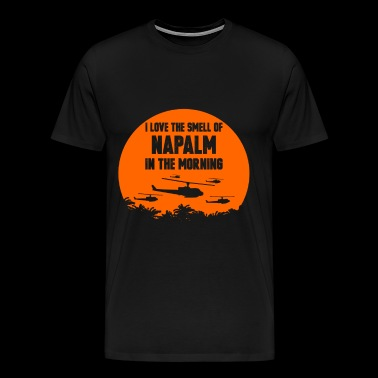 Napalm - Napalm - i love the smell of napalm tin - Men's Premium T-Shirt