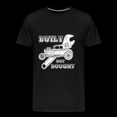 Truck T-shirt - Built not bought - Men's Premium T-Shirt