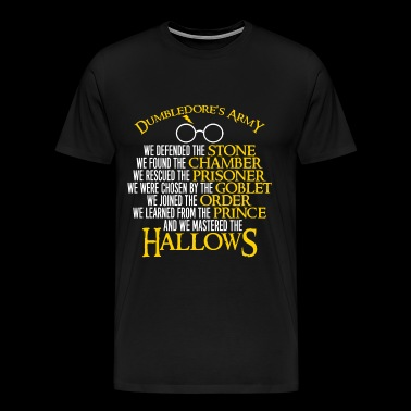 Dumbledore's army - We mastered the hallows - Men's Premium T-Shirt