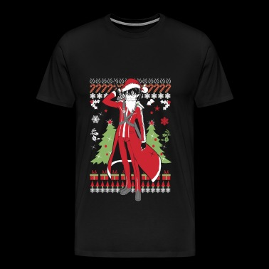 Ugly Christmas sweater for Kirito lover - Men's Premium T-Shirt