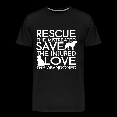 Rescue animals - Rescue animals - rescue the mis - Men's Premium T-Shirt