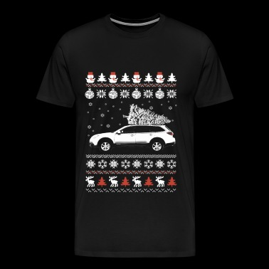 Car - Awesome Christmas sweater for car lovers - Men's Premium T-Shirt