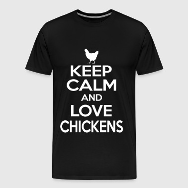 seachickens, chickens cartoon, chickens, chickens  - Men's Premium T-Shirt