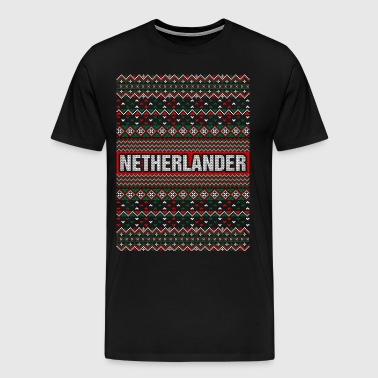 Netherlander Ugly Christmas Sweater - Men's Premium T-Shirt