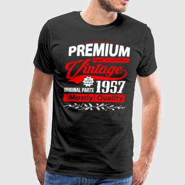 Aged to Perfection 1957 - Gift Idea - T-shirt - Men's Premium T-Shirt
