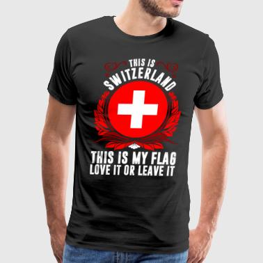 This Is Switzerland - Men's Premium T-Shirt