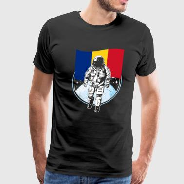 Romania flag - Men's Premium T-Shirt