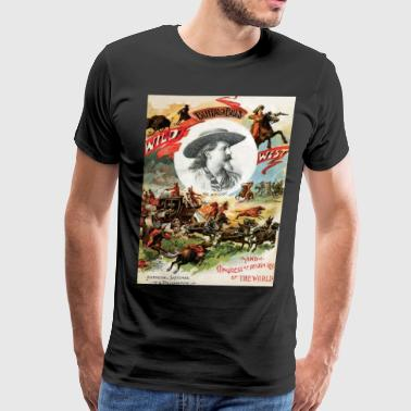 BuffaloBill poster art - Men's Premium T-Shirt