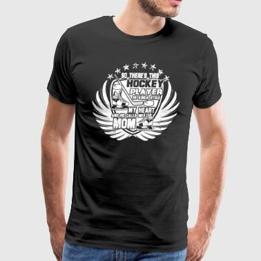 Hockey Player T Shirt - Men's Premium T-Shirt
