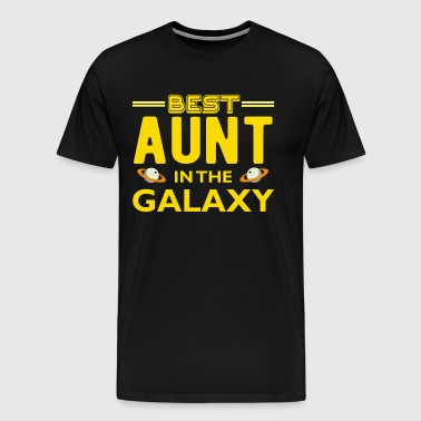 Best Aunt in The Galaxy T Shirt - Men's Premium T-Shirt