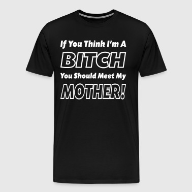 You Should Meet My Mother - Men's Premium T-Shirt