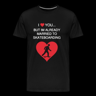 I Love Major Commitment T Shirt - Men's Premium T-Shirt