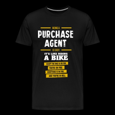 Purchase Agent - Men's Premium T-Shirt