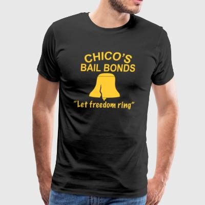 BAIL BONDS AND BASEBALL - Men's Premium T-Shirt