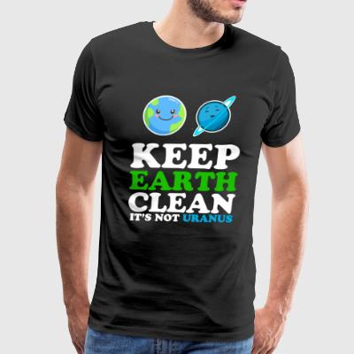 Earth day funny - Men's Premium T-Shirt