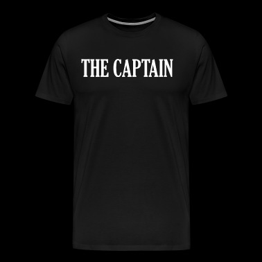 The Captain Boat Captain Marine - Men's Premium T-Shirt