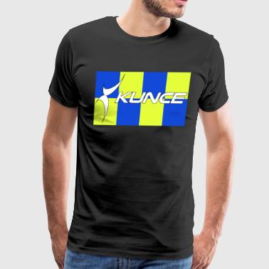 Kunce Clothing Original High Visibility Battenberg - Men's Premium T-Shirt